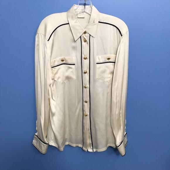 Escada Tops - Vintage Escada Silk Blouse